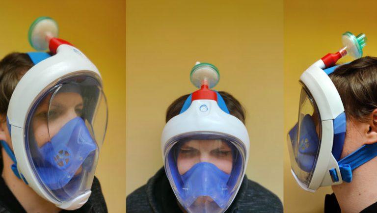 Croatian 3D printed respirator