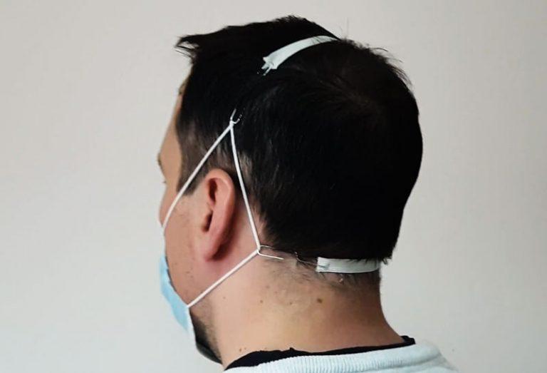 pandemija.info dodatak za za ugodnije nošenje kirurške maske