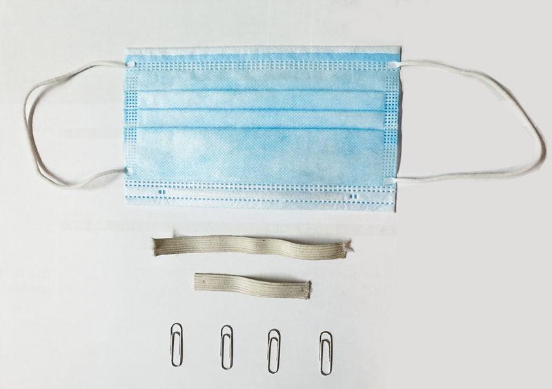 dodatak za za ugodnije nošenje kirurške maske